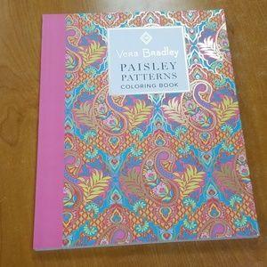 Vera Bradley Paisley pattern coloring book
